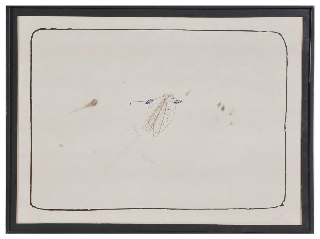 Antoni Tapies, Abstract, Lithograph
