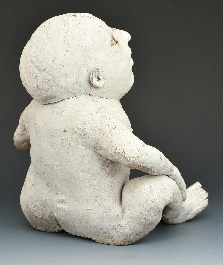 "Jose Vermeersch, Sitting Child, ceramic, 10""t - 2"