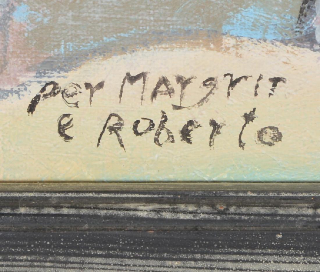 Ira Yeager, Cherubim, Oil/Canvas - 2