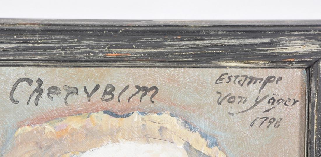 Ira Yeager, Cherubim, Oil/Canvas - 3