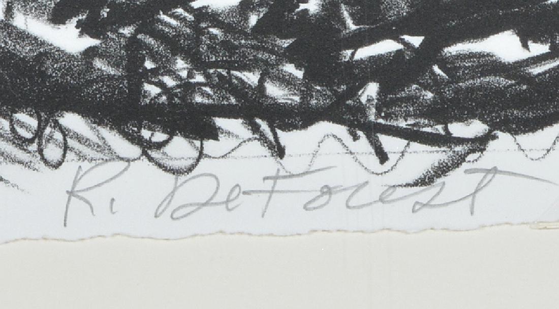 Roy De Forest, Dogs, Lithograph - 2