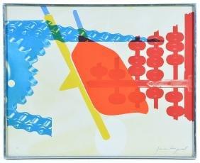 James Rosenquist, Whipped Butter, color screenprint