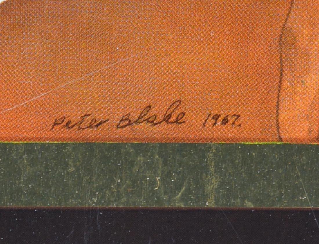 Peter Blake, Babe Rainbow, color screenprint on tin - 2