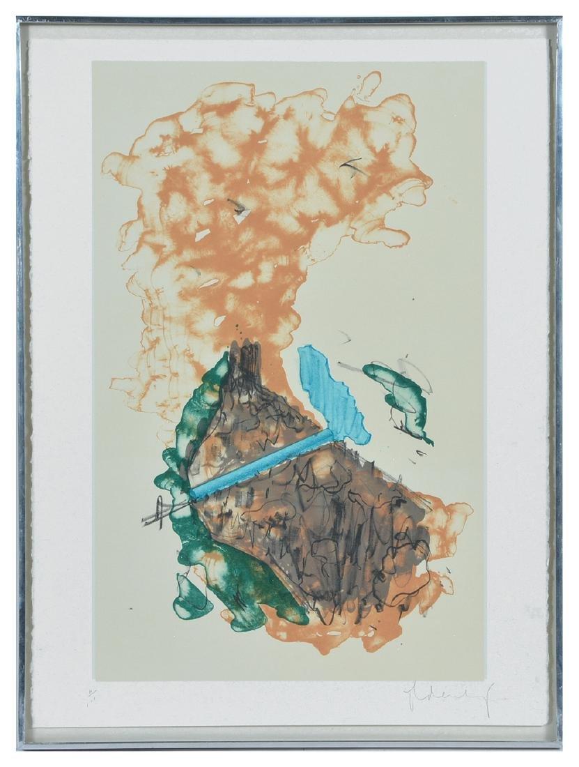 Claes Oldenburg, Proposal..., color lithograph