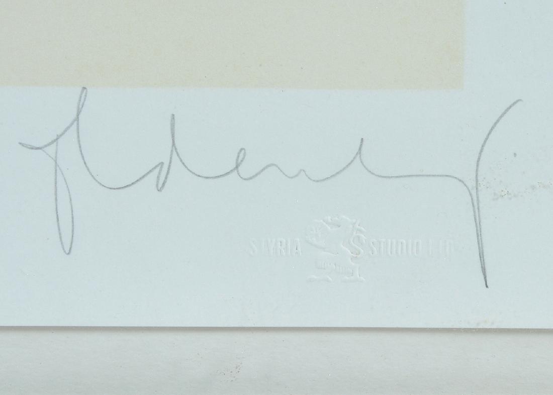 Claes Oldenburg, Proposal..., color lithograph - 2