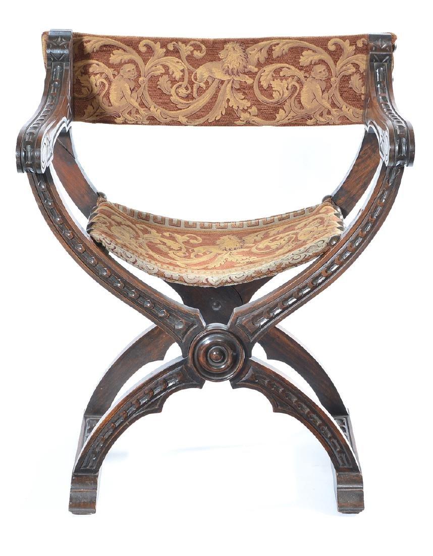 Savonarola chair, 19th c