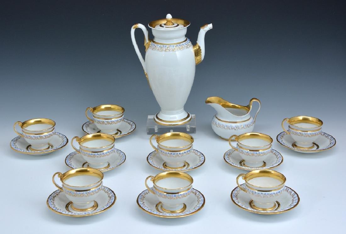 20 pc Meissen Porcelain Coffee Service