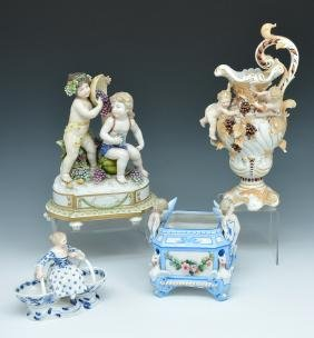 3 Pcs German porcelain
