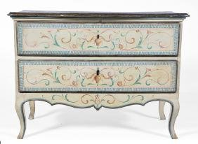 Italian Neoclassical Polychromed Commode, 18th C