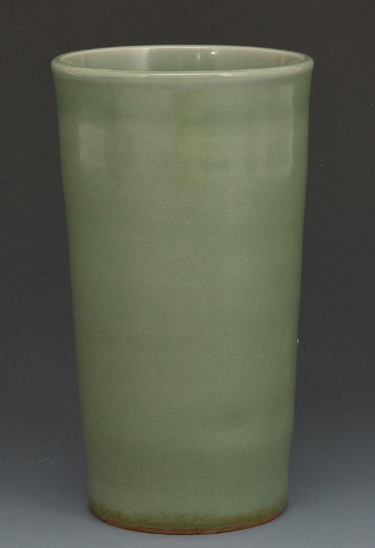 Chinese Celadon Beaker Vase