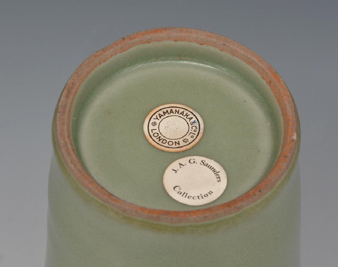 Chinese Celadon Beaker Vase - 3