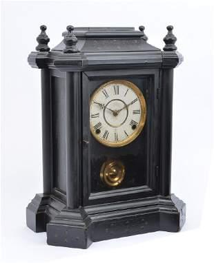 "Ingraham Clock Co. ""The Domino"", 15 3/8""t"
