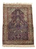 Persian tree of life prayer rug