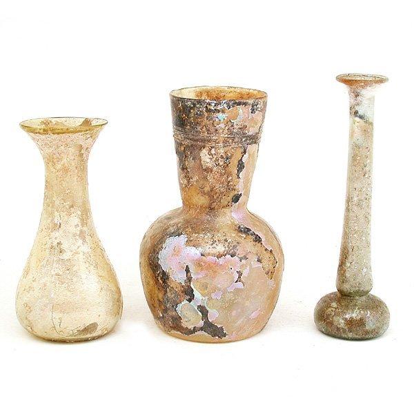 1: 3 Roman Glass Objects