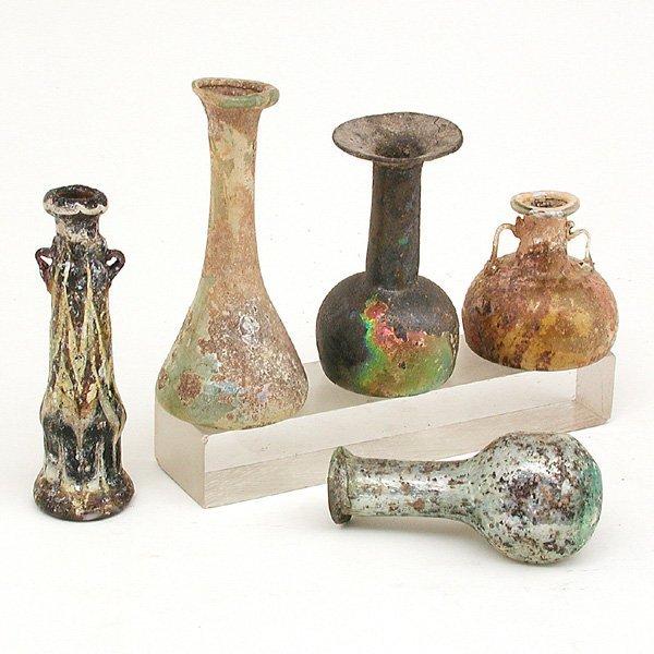 2: 5 Roman Glass Objects