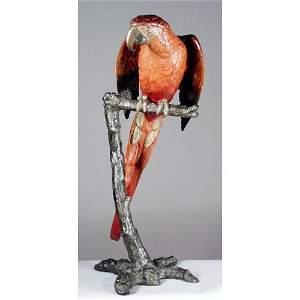 4: Monumental Vienna Bronze Parrot.