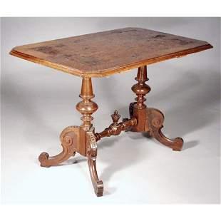 Victorain Game Table.