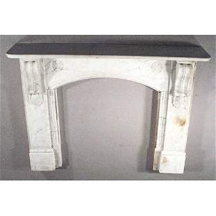 Victorian Marble Mantle.