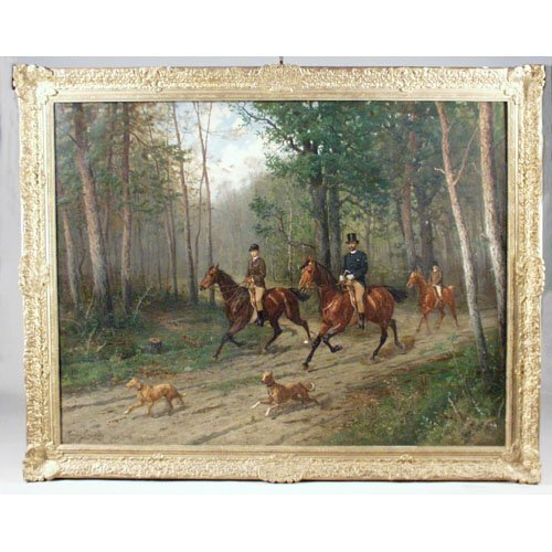 313: Painting, Conrad Freyburg Pr. Preussen