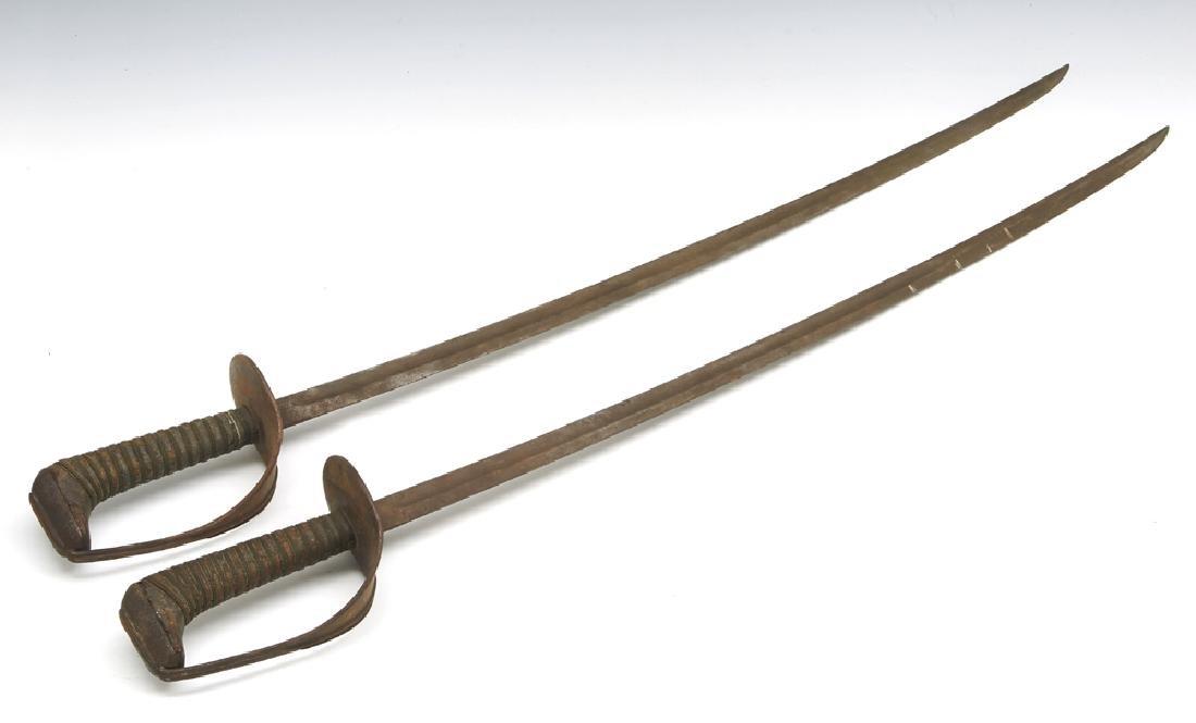 Pair of US Cavalry model 1906 sabers