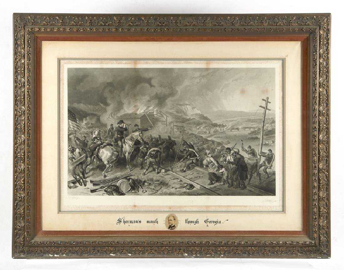 F.O.C. Darley Engraving, Sherman's March to the Sea