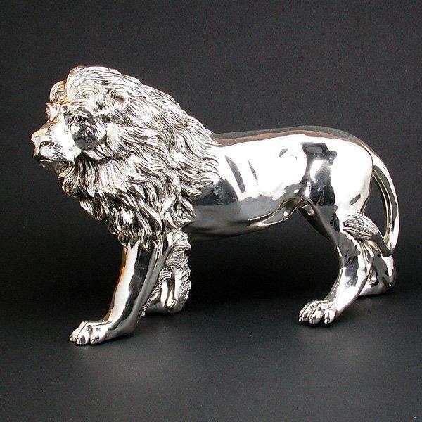 2: Silverplated Bronze Lion