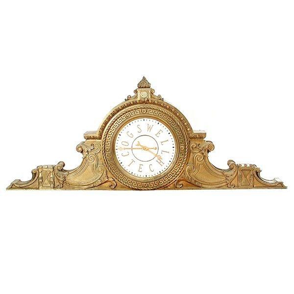 17: Monumental Bronze Clock