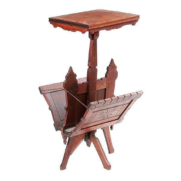 22: Victorian Eastlake Table
