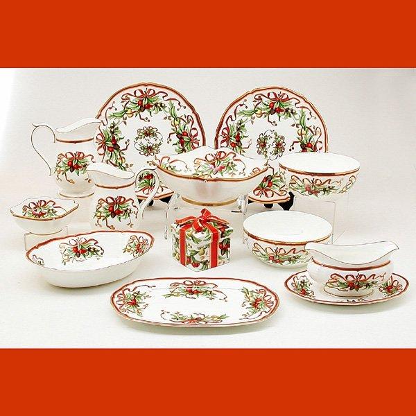 """174: Tiffany & Co. """"Holiday"""" Dinnerware"""