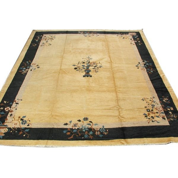 "12: Chinese Roomsize Carpet.  9'1"" x 11'7"""