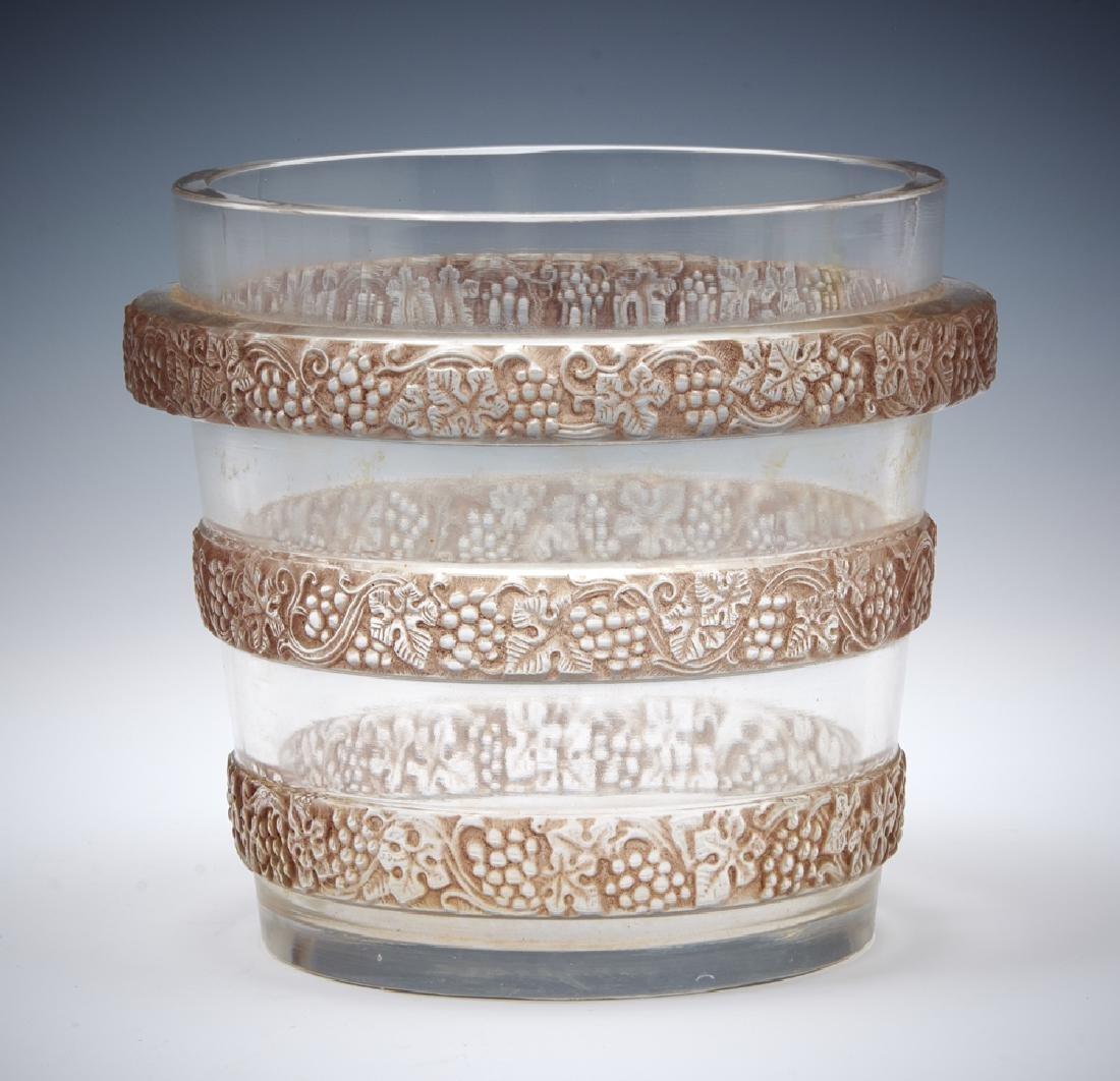 """Rene Lalique """"Ricquewihr"""" ice bucket"""