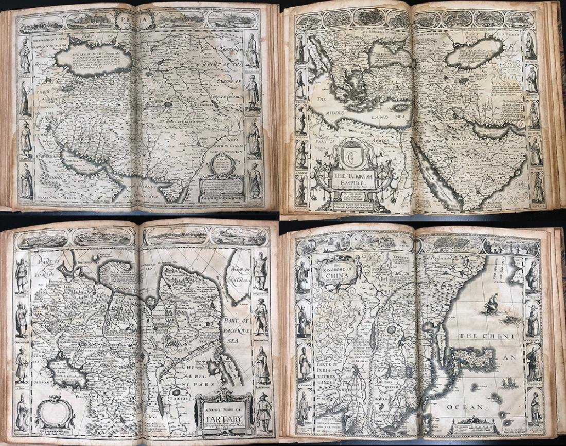 John Speed, 1627, A Prospect Most Famous Parts of World - 10