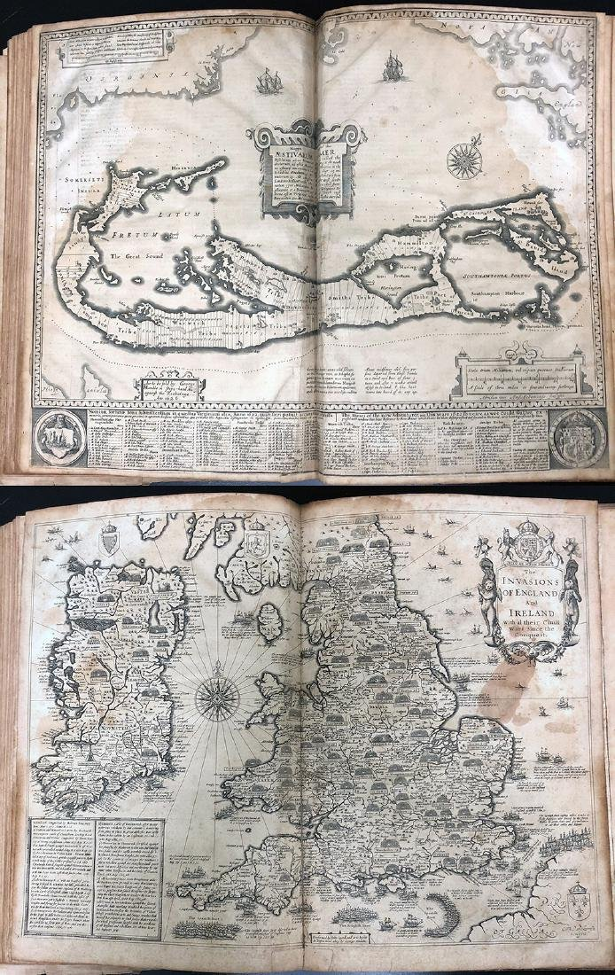 John Speed, 1627, A Prospect Most Famous Parts of World - 11