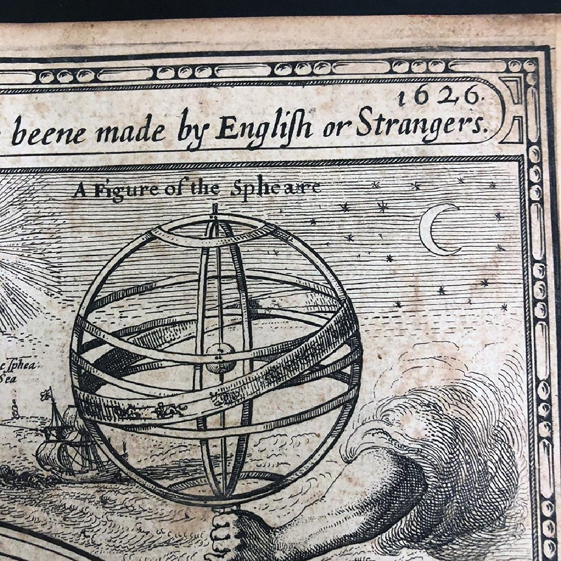 John Speed, 1627, A Prospect Most Famous Parts of World - 2