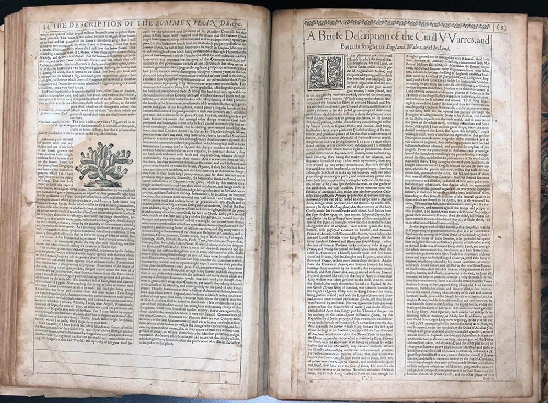 John Speed, 1627, A Prospect Most Famous Parts of World - 5