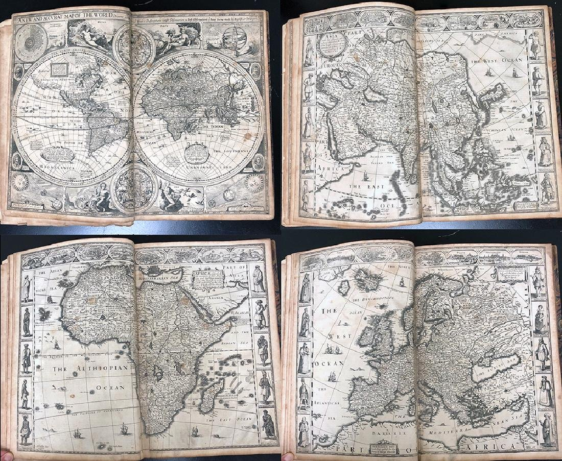 John Speed, 1627, A Prospect Most Famous Parts of World - 6