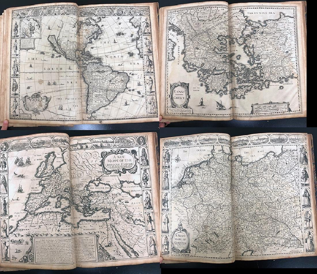 John Speed, 1627, A Prospect Most Famous Parts of World - 7