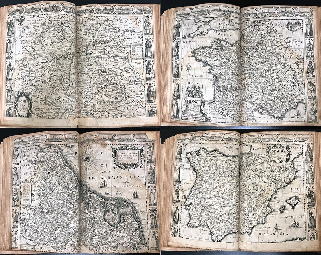 John Speed, 1627, A Prospect Most Famous Parts of World - 8