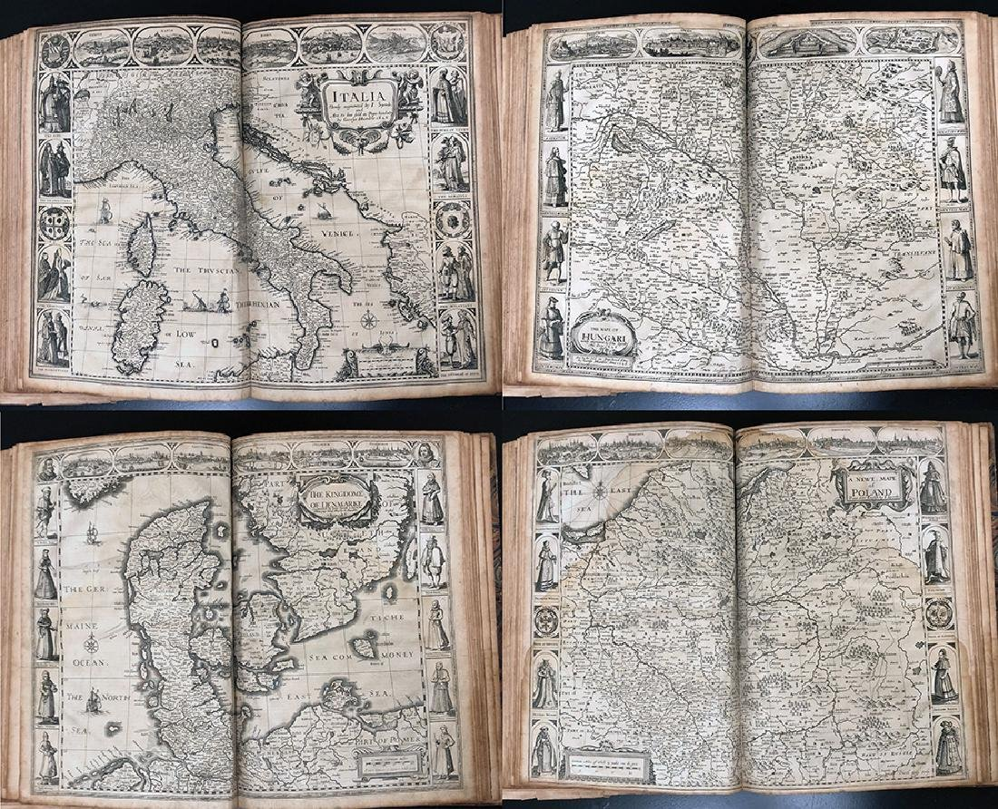 John Speed, 1627, A Prospect Most Famous Parts of World - 9