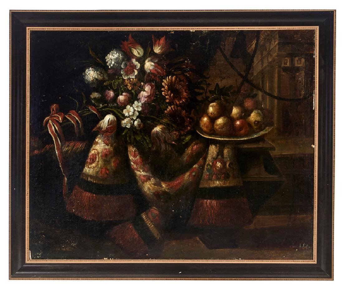 Juan de Arellano, Pair of still lifes, oils on canvas - 2