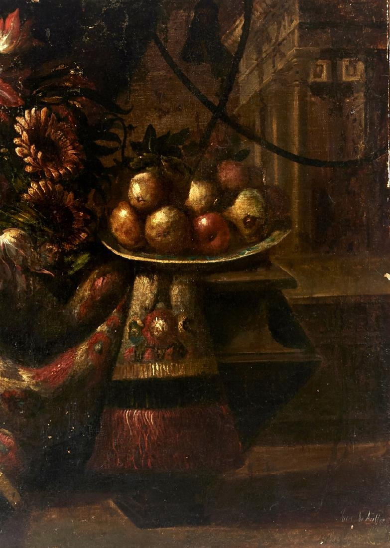 Juan de Arellano, Pair of still lifes, oils on canvas - 3