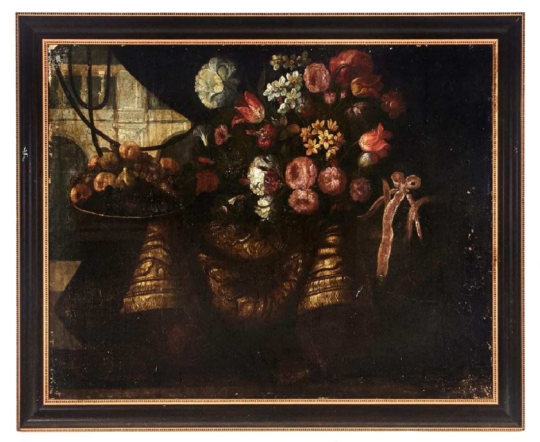 Juan de Arellano, Pair of still lifes, oils on canvas - 8