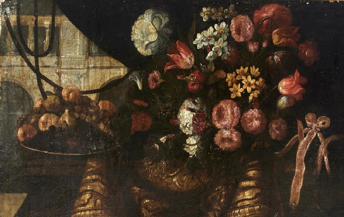 Juan de Arellano, Pair of still lifes, oils on canvas - 9