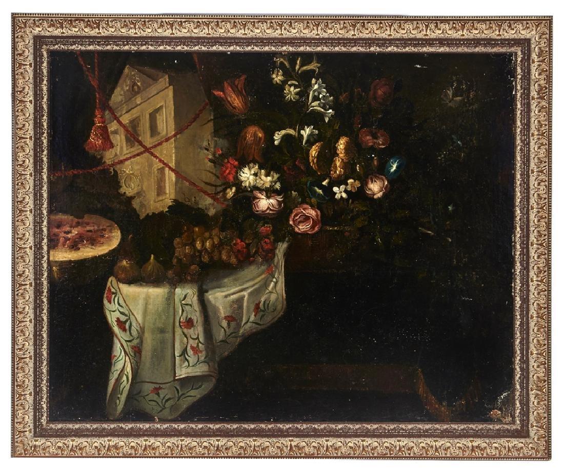 Juan de Arellano, Still Life, oil on canvas