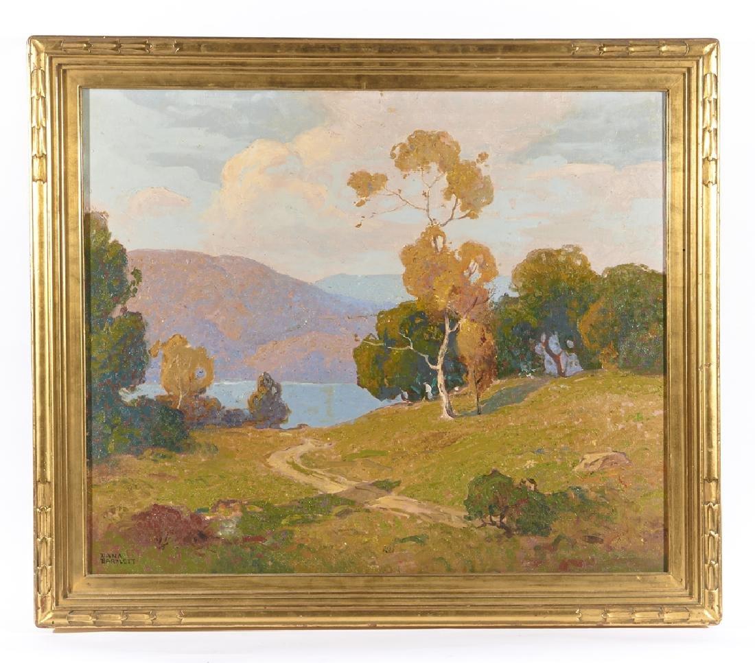"""Dana Bartlett, """"California"""", oil on canvas"""