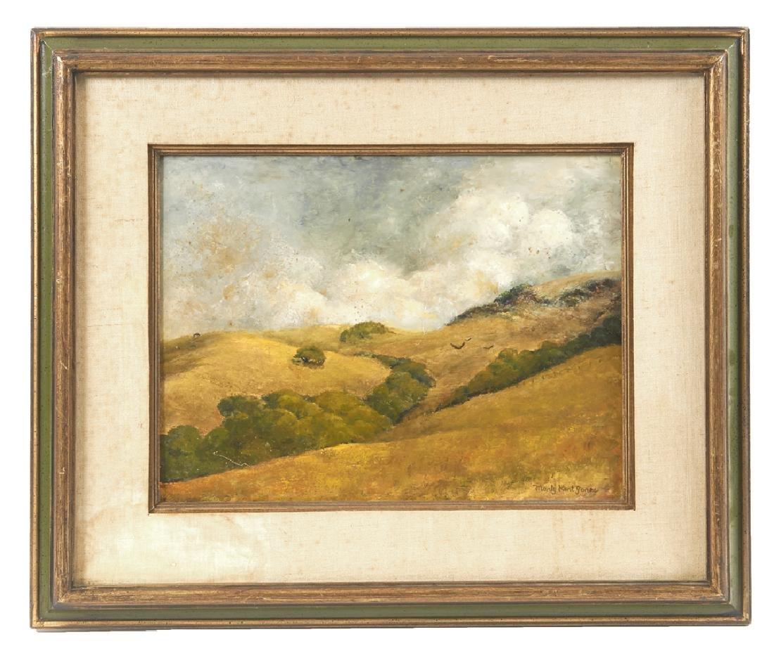 Marty Kent Jones Painting, Marin County Hills