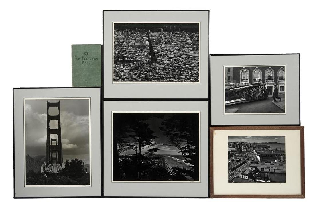 "Five Max Yavno photographs plus ""The San Francisco"