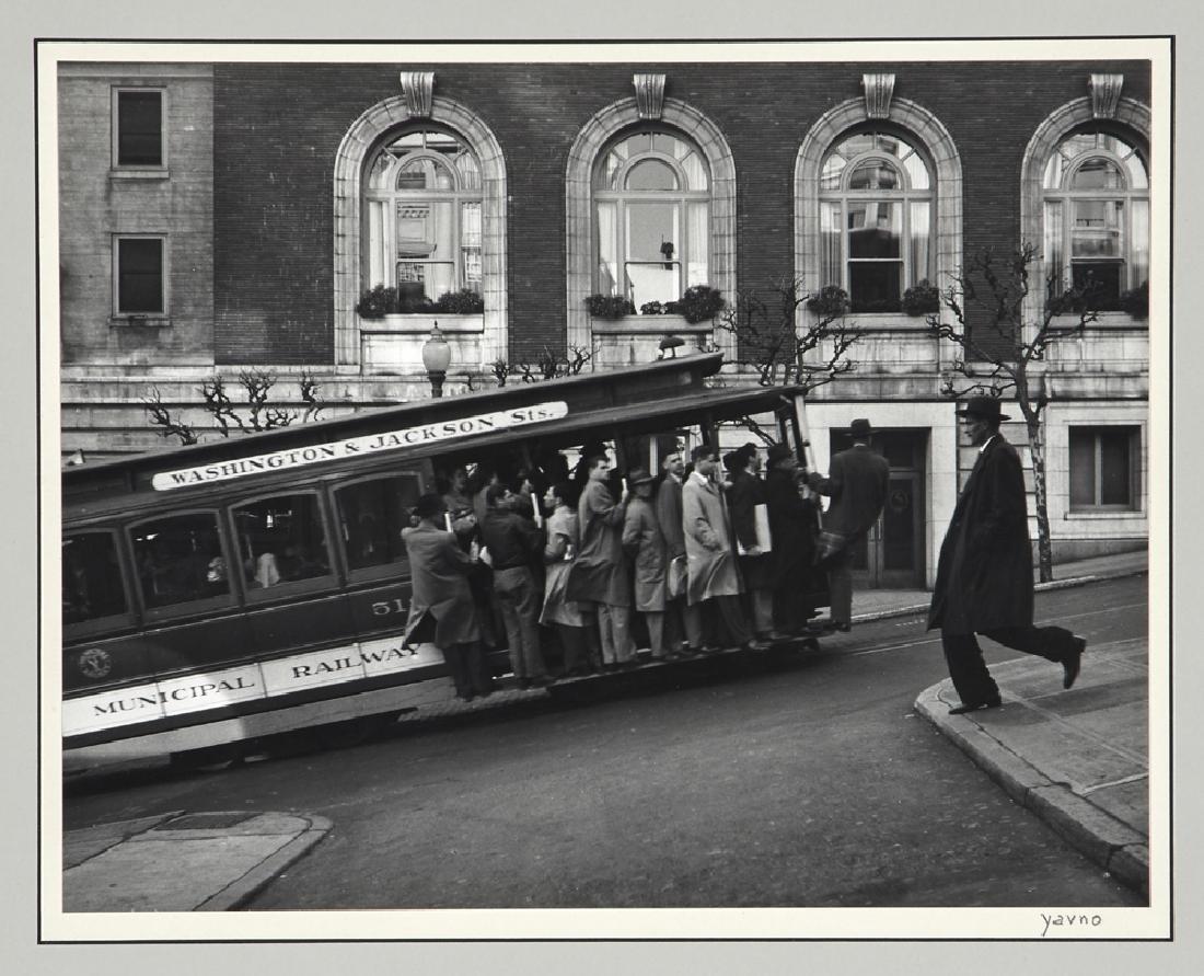 "Five Max Yavno photographs plus ""The San Francisco - 3"