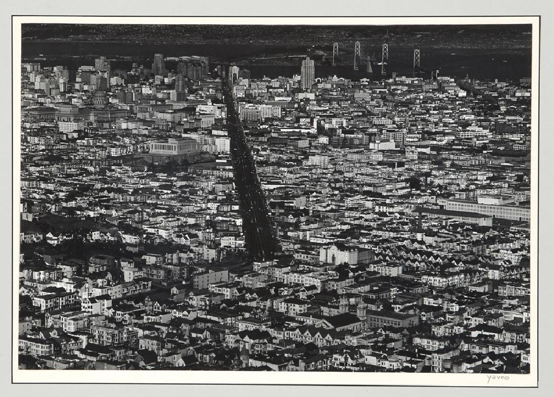 "Five Max Yavno photographs plus ""The San Francisco - 4"