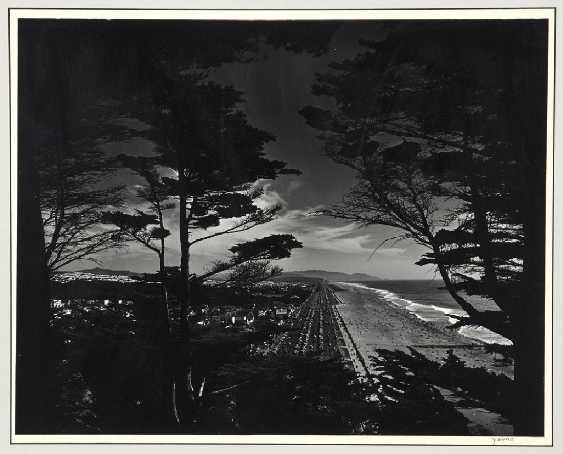 "Five Max Yavno photographs plus ""The San Francisco - 6"